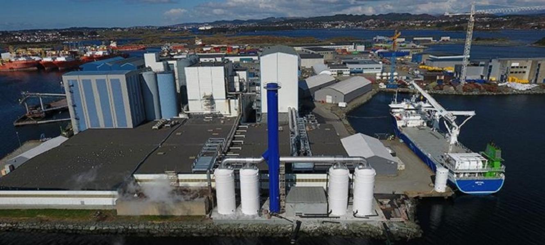 BioMar establece un récord de producción en su planta de alimentos en Noruega
