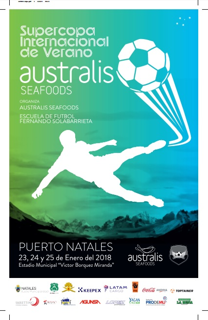 Australis Mar se prepara para recibir el campeonato de fútbol de verano más grande del fin del mundo