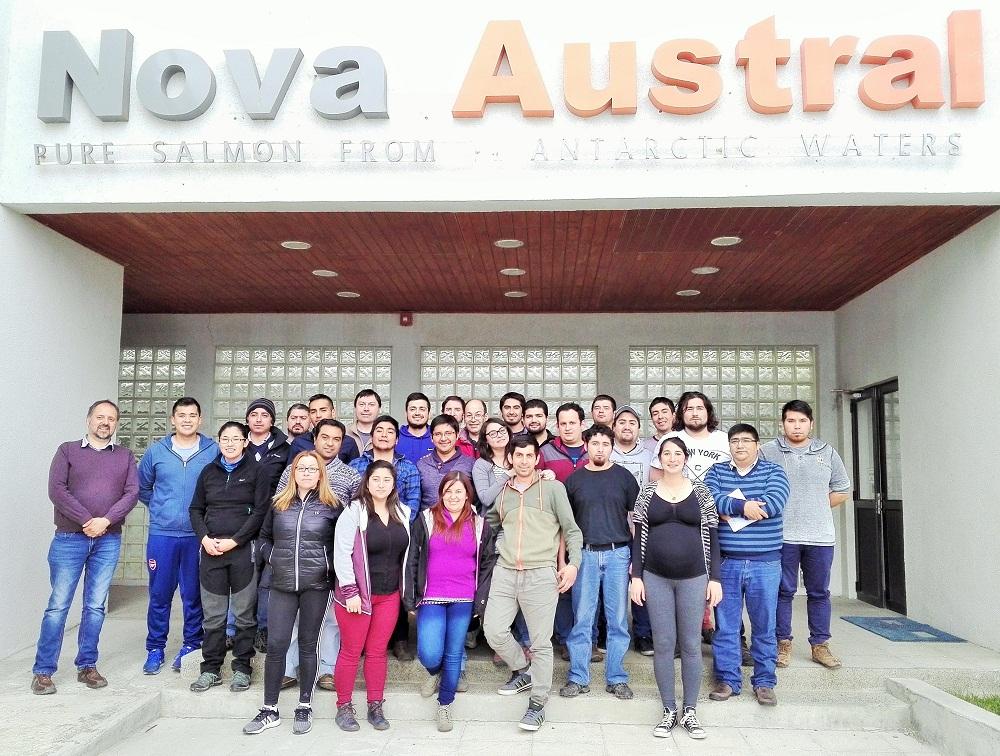 Nova Austral llevó a cabo capacitación a sus colaboradores en Porvenir