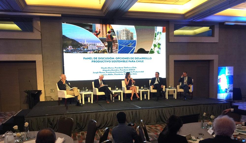OCDE entregó evaluación positiva sobre política de transformación productiva en Chile