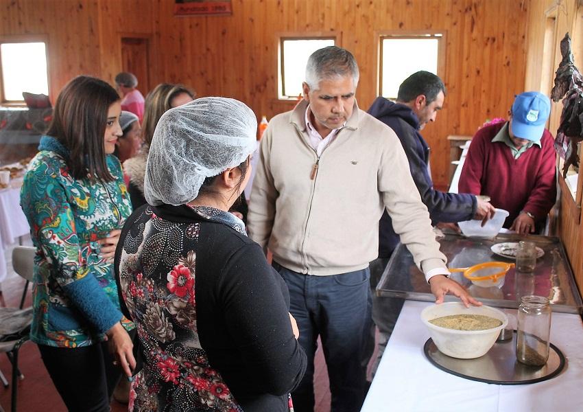 Algueros de Los Muermos producen pan y galletas con harina de cochayuyo