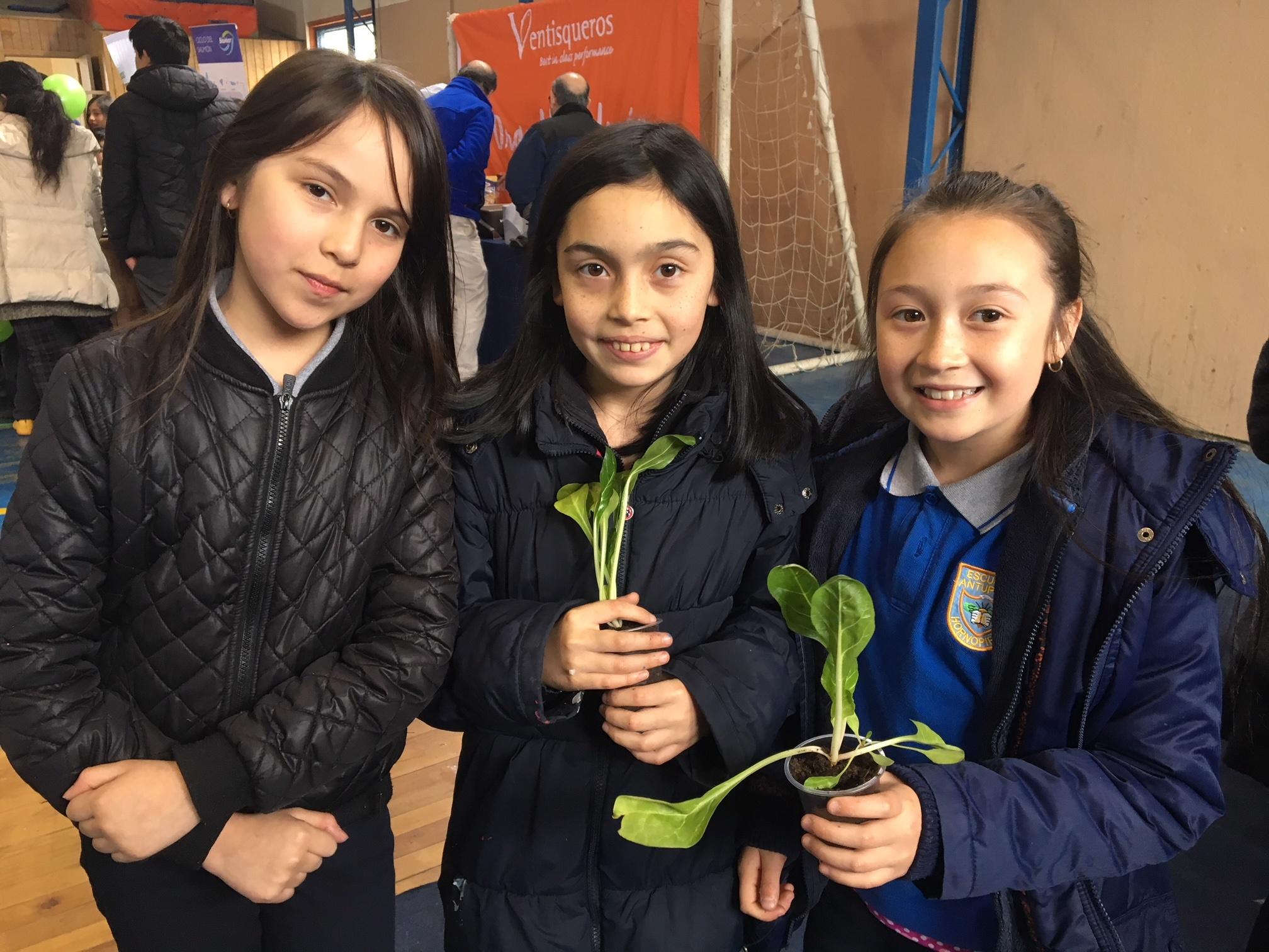 Escuelas acompañadas por Ventisqueros obtienen certificación ambiental