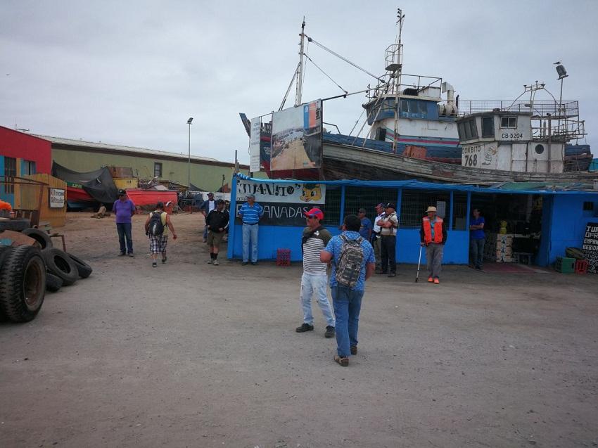 Pescadores de Caldera piden a Presidenta Bachelet cumplir con terminal pesquero al sector artesanal