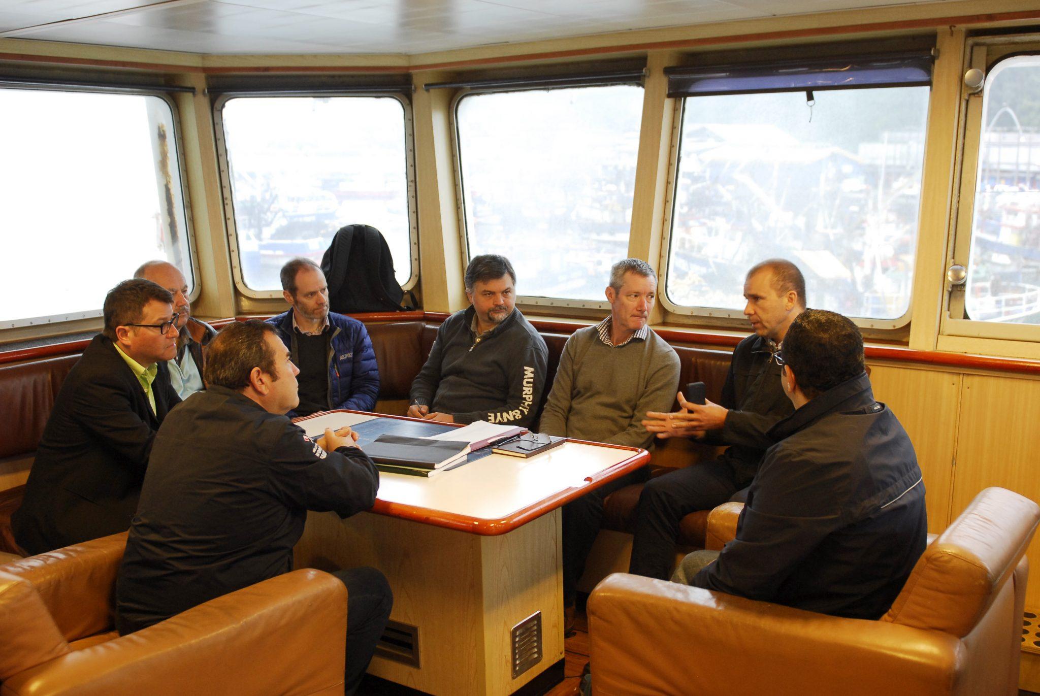 Acoura Marine visita Chile para certificación de sustentabilidad de la pesquería del jurel