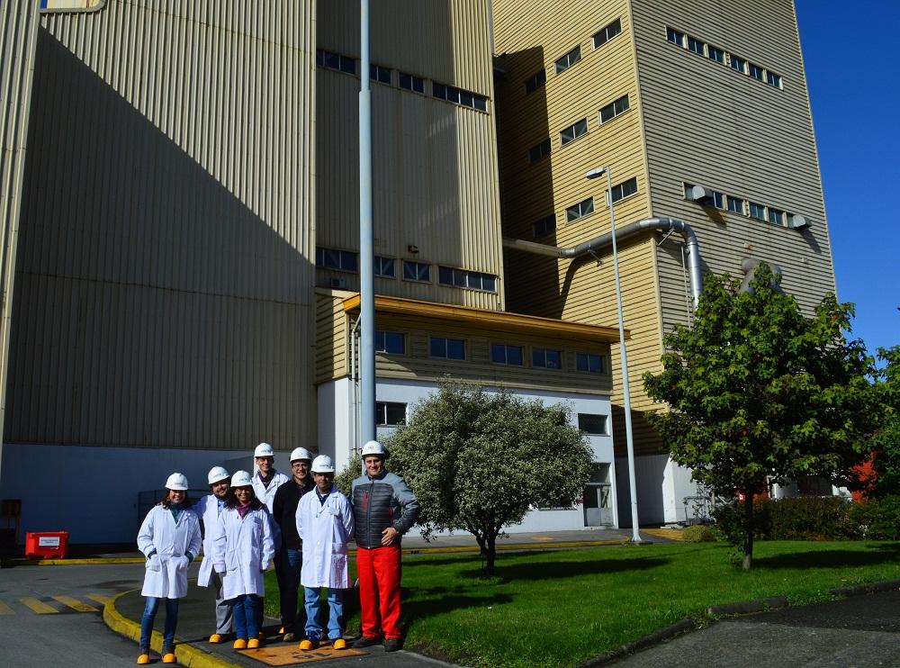 Nuevo gerente general de Intesal visitó planta de Skretting en Pargua