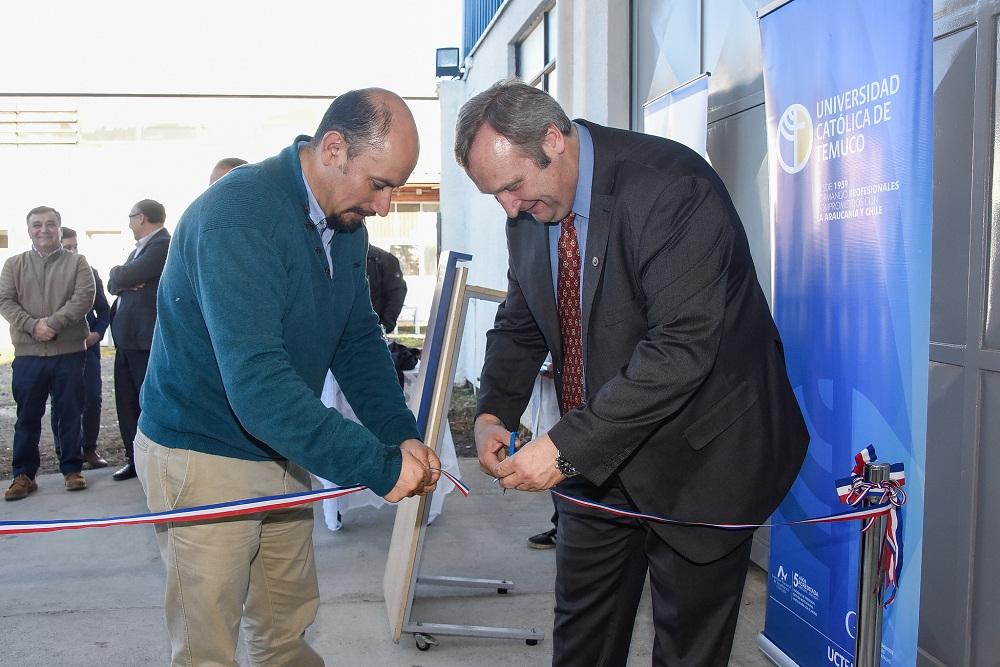UC Temuco: inauguran moderna planta piloto para nutrición de peces