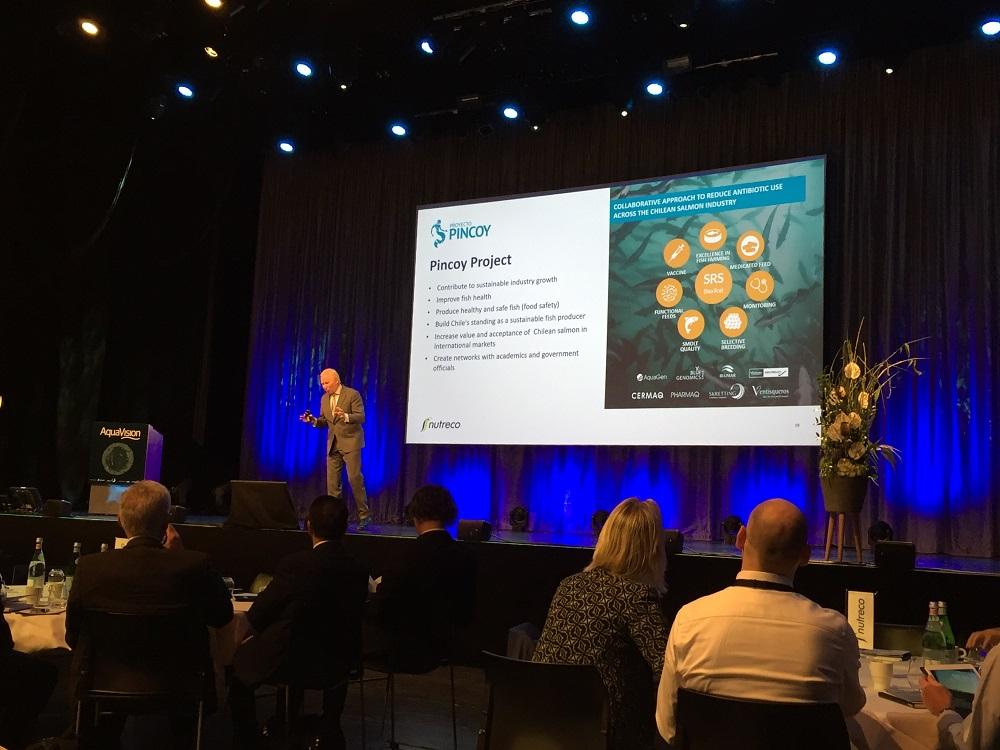 Proyecto Pincoy presente en AquaVision 2018