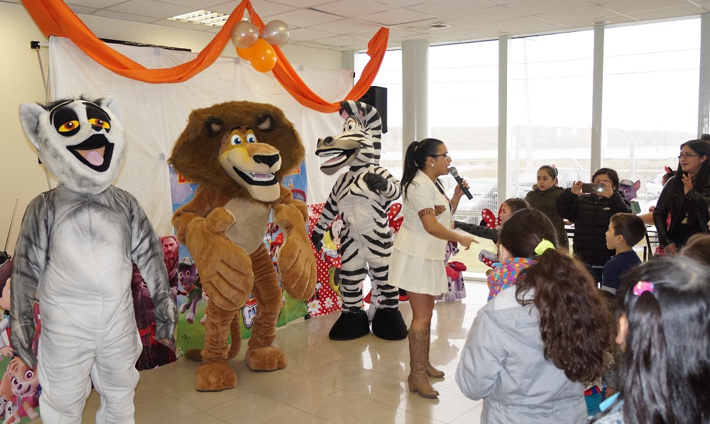 Región de Magallanes: Nova Austral celebró el Día del Niño