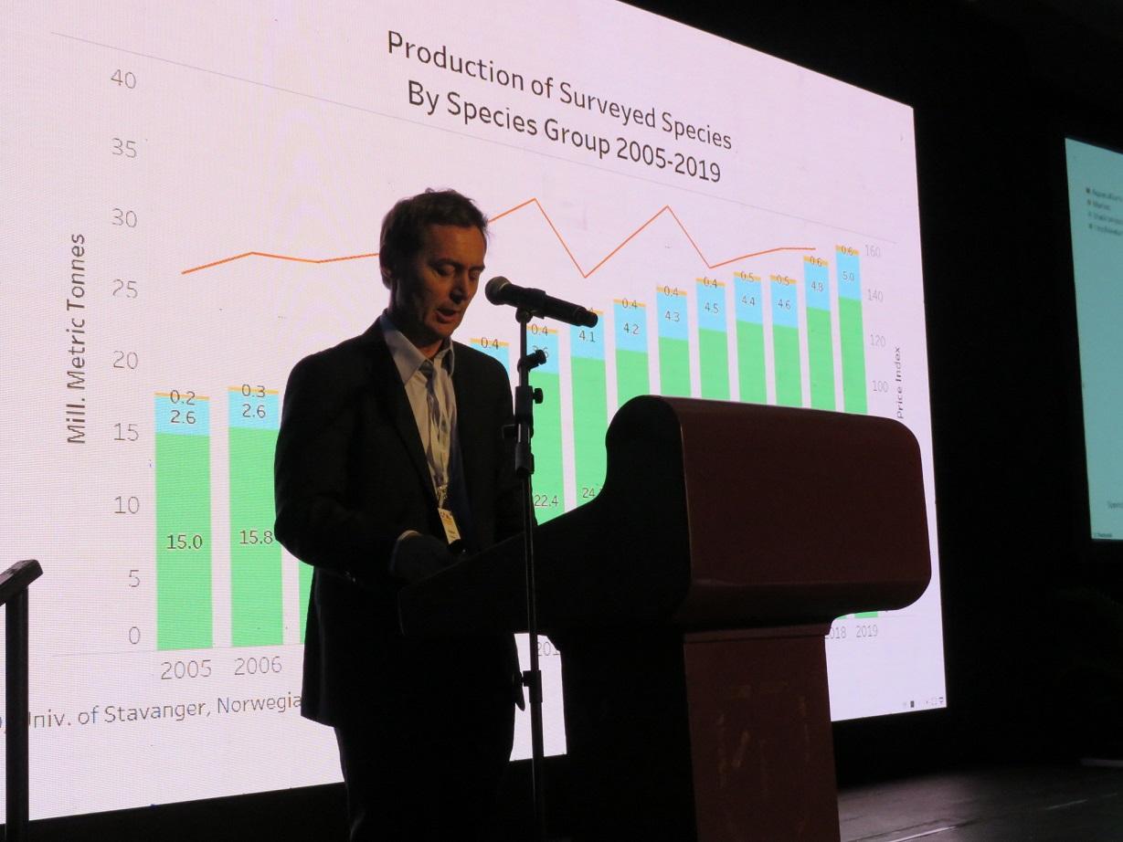 Proyectan producción global de 2,5 millones de toneladas de salmón del Atlántico para el 2019