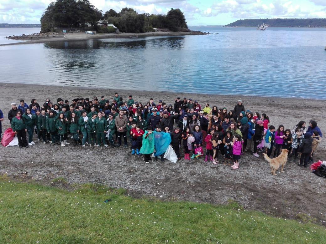 Puerto Montt se sumó al día Internacional de limpieza de playas