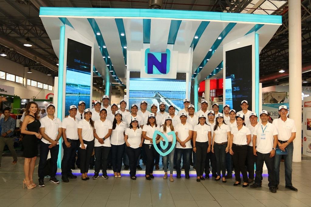 Nicovita tuvo una destacada participación en AquaExpo Guayaquil