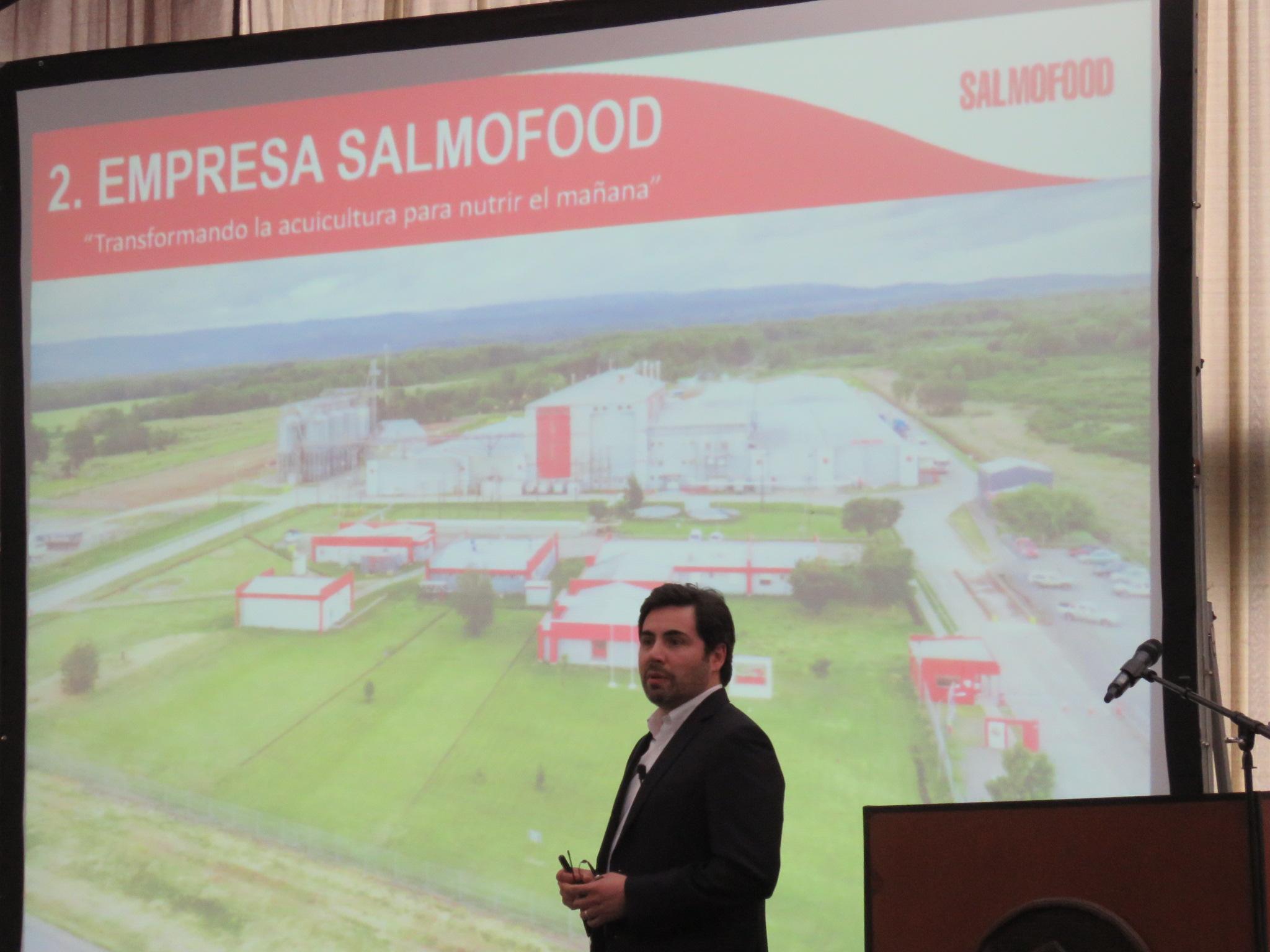 Productoras de alimento para peces expusieron oportunidades para el agro en la salmonicultura