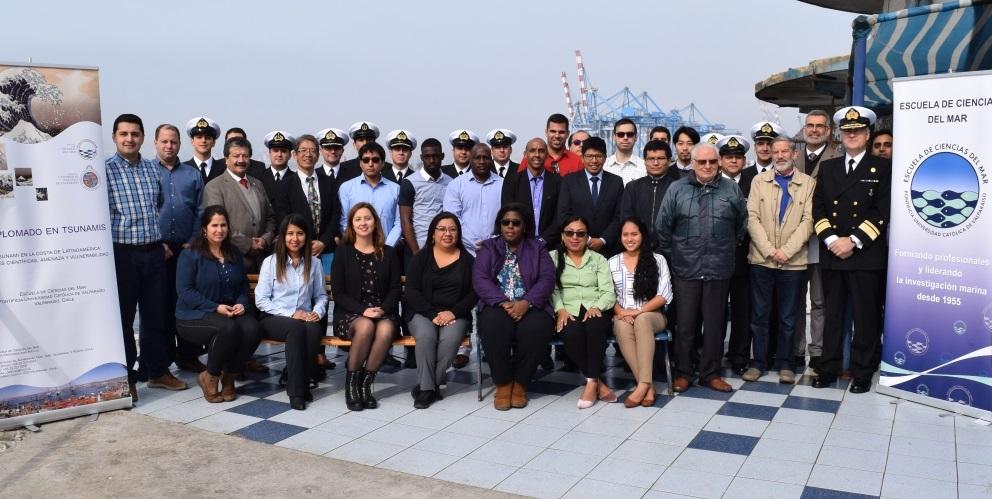Escuela de Ciencias del Mar de la PUCV inaugura Diplomado en Tsunami 2019