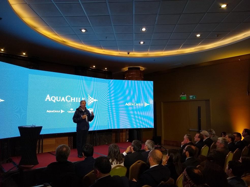 AquaChile concretó el cierre de sus centros de cultivo en los lagos del sur de Chile