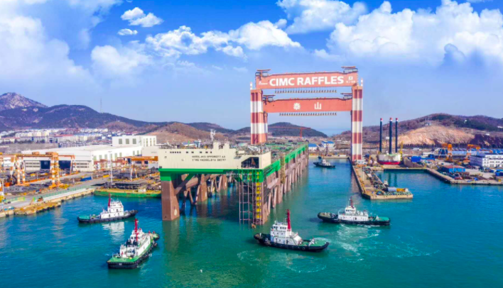 Fotos: Megaproyectos de acuicultura en alta mar en China en su fase final