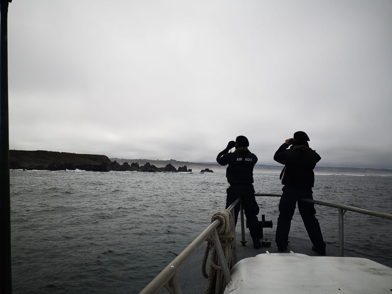 Tres pescadores permanecen desaparecidos en Lebu