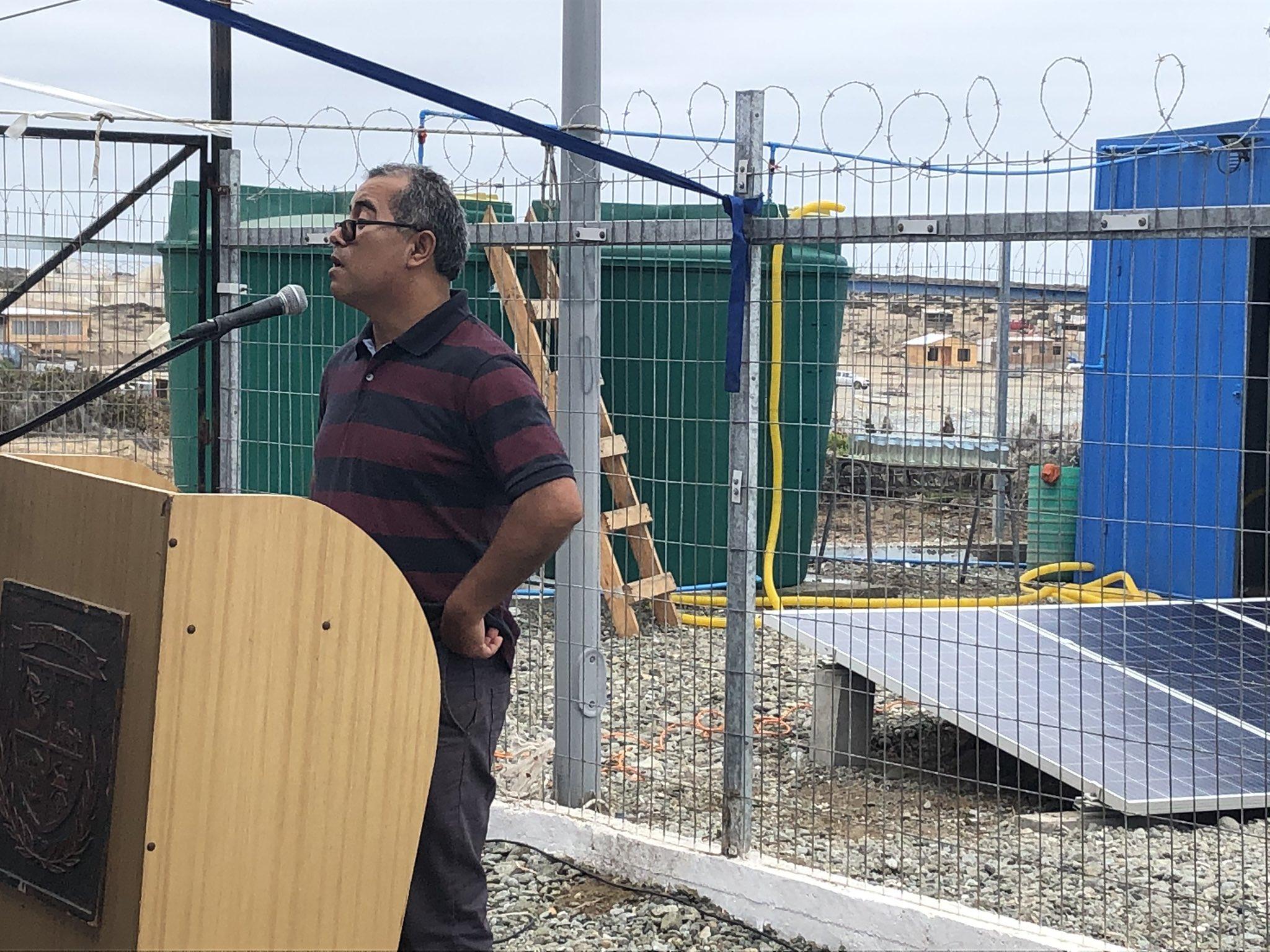 Inauguran planta desalinizadora para pescadores en Atacama