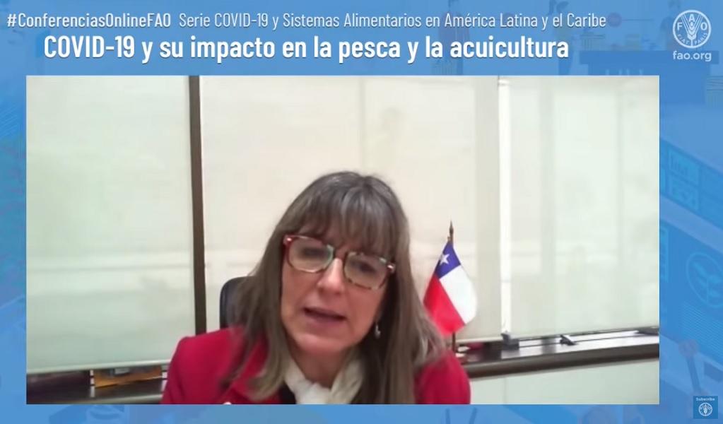 Directora de Sernapesca participó en encuentro sobre COVID-19 y sus efectos en la pesca y acuicultura