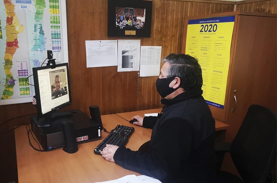 SHOA realiza atención de público a través de sistema de videollamada