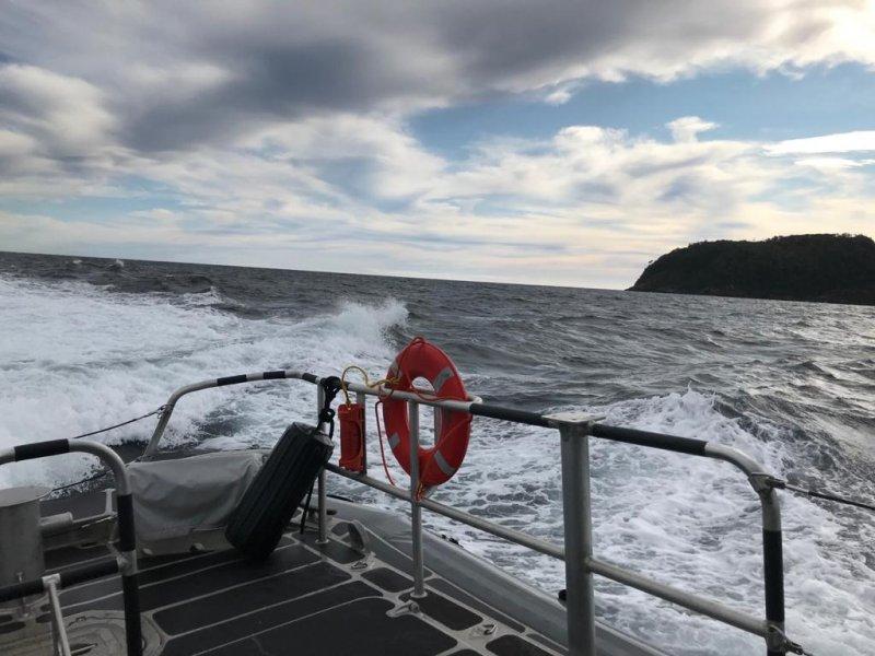 Continúa intensa rebusca de tripulantes desaparecidos en el área de islote Queitao