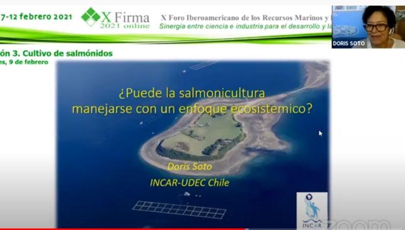 Investigadores INCAR destacan en X Foro Iberoamericano de Recursos Marinos y Acuicultura
